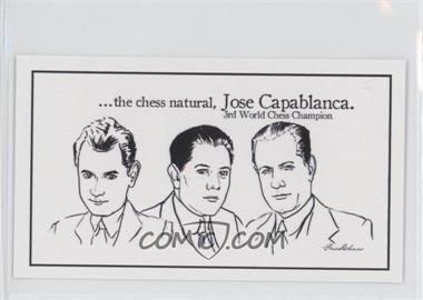 2013 FaceChess SE - [Base] #4 - Jose Capablanca