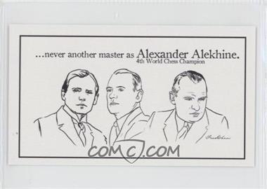 2013 FaceChess SE #2 - Alexander Alekhine
