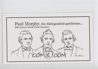 2013 FaceChess SE #3 - Paul Morphy