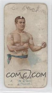 1887 Allen & Ginter's The World's Champions - Tobacco N28 #JESM - Jem Smith [Poor]