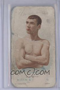1887 Allen & Ginter's The World's Champions Tobacco N28 #IKWE - Ike Weir [Poor]
