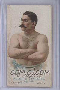 1887 Allen & Ginter's The World's Champions Tobacco N28 #JOSU - John L. Sullivan [Poor]