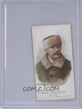 1888 Allen & Ginter's The World's Champions Second Series Tobacco N29 #AXPA - Axel Paulsen [Good to VG‑EX]
