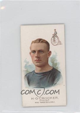 1888 Allen & Ginter's The World's Champions Second Series Tobacco N29 #HGCR - H.G. Crocker