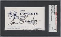 Tom Landry [SGC AUTHENTIC]