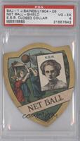 Net Ball - Shield (E.S.B. Closed Collar) [PSA 4]
