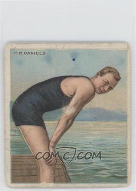 1910 ATC Champions - Tobacco T218 - Mecca Back #CMDA.2 - C.M. Daniels [Poor]