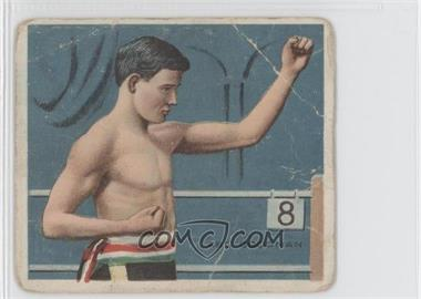 1910 ATC Champions Tobacco T218 Hassan Back #ABGO - Abe Goodman [Good to VG‑EX]
