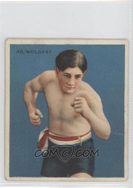 1910 ATC Champions Tobacco T218 Hassan Back #ADWO - Ad Wolgast [Good to VG‑EX]