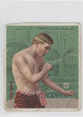 1910 ATC Champions Tobacco T218 Hassan Back #BAHU - Battling Hurley [Good to VG‑EX]