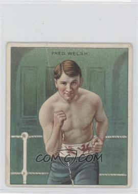 1910 ATC Champions Tobacco T218 Hassan Back #FRWE - Fred Welsh [Good to VG‑EX]
