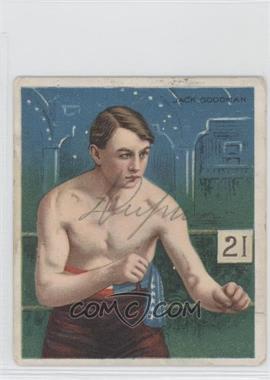 1910 ATC Champions Tobacco T218 Hassan Back #JAGO - Jack Goodman [GoodtoVG‑EX]