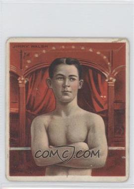 1910 ATC Champions Tobacco T218 Hassan Back #JIWA - Jimmy Walsh [GoodtoVG‑EX]