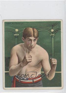 1910 ATC Champions Tobacco T218 Hassan Back #UNR - Unk Russell [Good to VG‑EX]