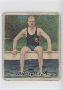 1910 ATC Champions Tobacco T218 Mecca Back #CMDA.1 - C.M. Daniels [Poor to Fair]
