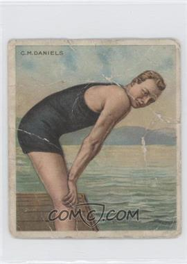 1910 ATC Champions Tobacco T218 Mecca Back #CMDA.2 - C.M. Daniels [Poor to Fair]