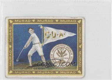 1910 Murad Cigarettes College Series - T51 #133 - The Catholic University of America [GoodtoVG‑EX]