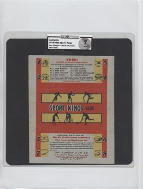 1933 Sport Kings Gum #N/A - [Missing] [GAI 7]
