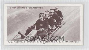 1939 Churchman's Cigarettes Kings of Speed Tobacco [Base] #43 - F.J. McEvoy, D. Locker, C.P. Green, A.E.W. Mackintosh