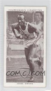 1939 Churchman's Cigarettes Kings of Speed Tobacco [Base] #45 - Jesse Owens