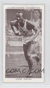 1939 Churchman's Cigarettes Kings of Speed Tobacco [Base] #45 - Jesse Owens [GoodtoVG‑EX]