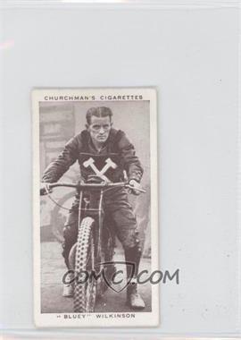 "1939 Churchman's Kings of Speed - Tobacco [Base] #30 - ""Bluey"" Wilkinson"