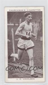 1939 Churchman's Kings of Speed - Tobacco [Base] #46 - John Lovelock