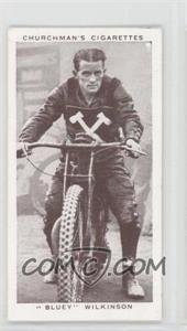 "1939 Churchman's Kings of Speed Tobacco [Base] #30 - ""Bluey"" Wilkinson"