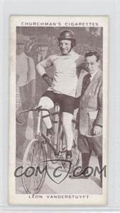 1939 Churchman's Kings of Speed Tobacco [Base] #35 - Leon Vanderstuyft