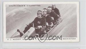 1939 Churchman's Kings of Speed Tobacco [Base] #43 - F.J. McEvoy, D. Locker, C.P. Green, A.E.W. Mackintosh