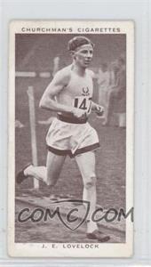 1939 Churchman's Kings of Speed Tobacco [Base] #46 - John Lovelock