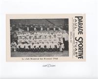 Montreal Royals Team 1944