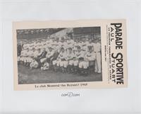 Montreal Royals Team 1945
