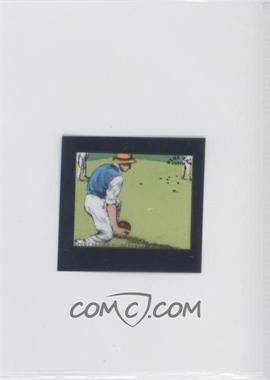 1952 Blue Cap Cheese Flixies #NoN - Lawn Bowling