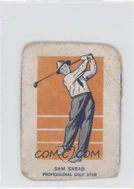 1952 Wheaties Champions #N/A - Sam Snead [Authentic]