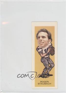 1973-74 Sugar Daddy Pro Faces #1 - Roger Staubach