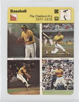 The Oakland A's 1971-1975 [Good to VG‑EX]