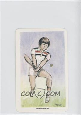 1979 Venorlandus World of Sport Our Heroes Flik-Cards - [Base] #44 - Jimmy Connors