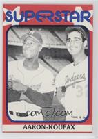 Hank Aaron, Sandy Koufax