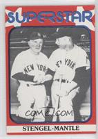 Casey Stengel, Mickey Mantle