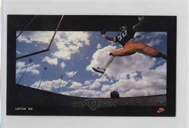 1985 Nike Poster Cards Promo [Base] #JALO - James Lofton