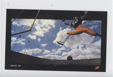 1985 Nike Poster Cards Promo [Base] #N/A - James Lofton
