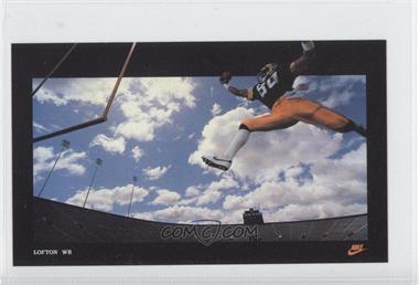 1985 Nike Poster Cards Promo [Base] #N/A - James Lofton