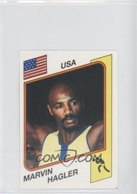 1986 Panini Supersport Stickers - [Base] #144 - Marvin Hagler