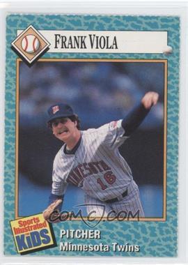 1989-91 Sports Illustrated for Kids - [Base] #35 - Frank Viola