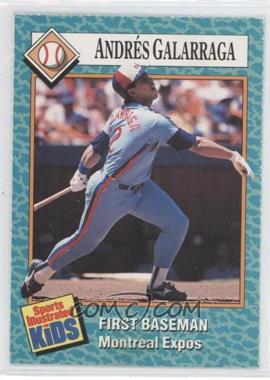 1989-91 Sports Illustrated for Kids - [Base] #63 - Andres Galarraga