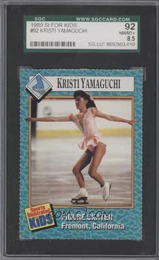 1989-91 Sports Illustrated for Kids - [Base] #92 - Kristi Yamaguchi [SGC92]