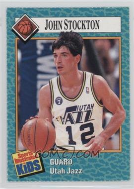 1989-91 Sports Illustrated for Kids #104 - John Stockton