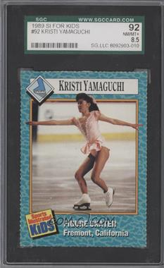 1989-91 Sports Illustrated for Kids #92 - Kristi Yamaguchi [SGC 92]