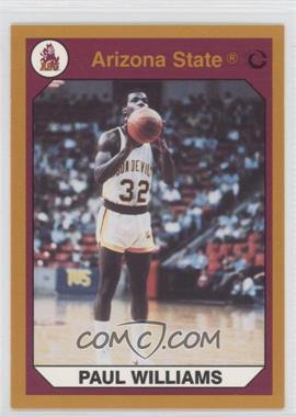 1990 Collegiate Collection Arizona State Sun Devils - [Base] - Gold Back #44 - Paul Williams